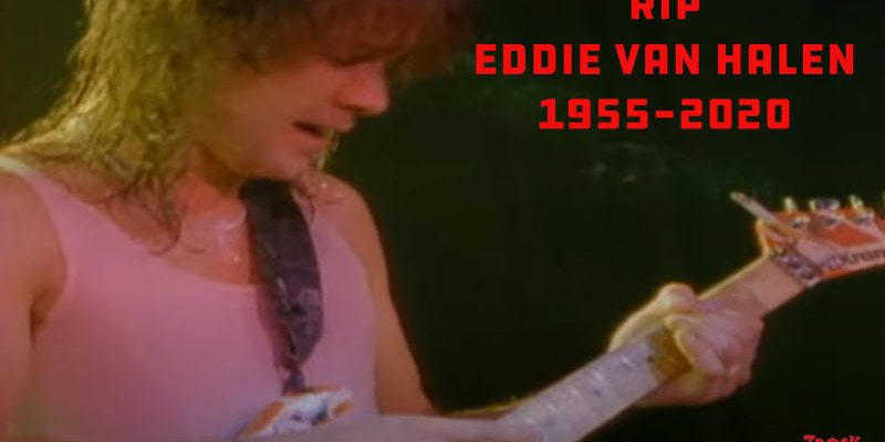 RIP Eddie Van Halen 1955-2020